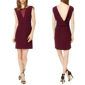 BABATON Aritzia Cowl Back Sheath Rylan Dress